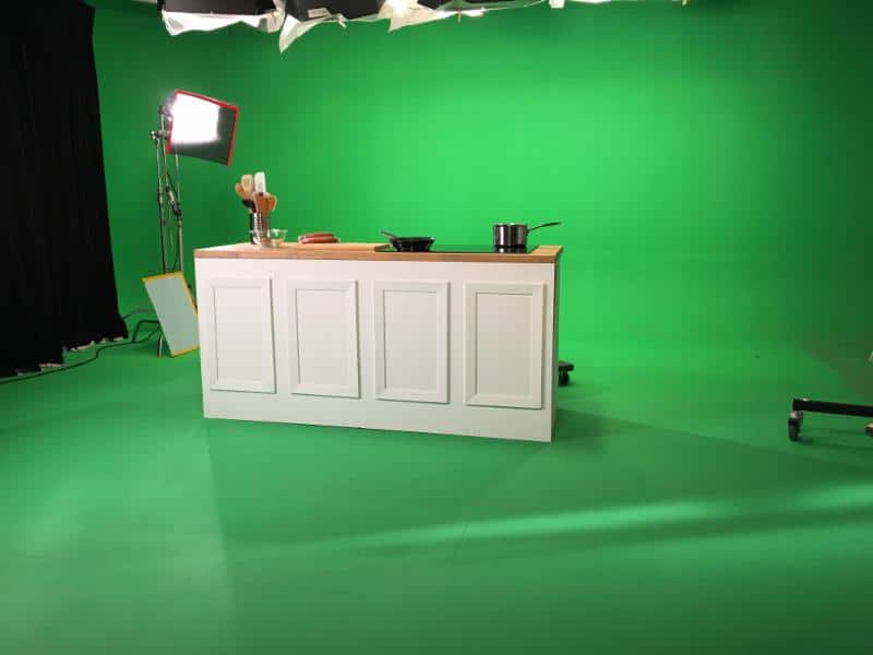 Green Screen Sound Stage
