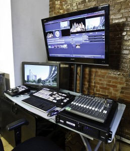 Tricaster: WebCasting Control Room at AMC Studio NYC