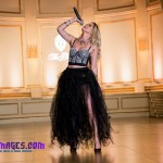 Darja Schabad Performs at the Plaza Hotel.