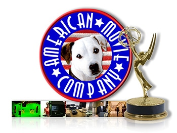 American Movie Company logo with Emmy