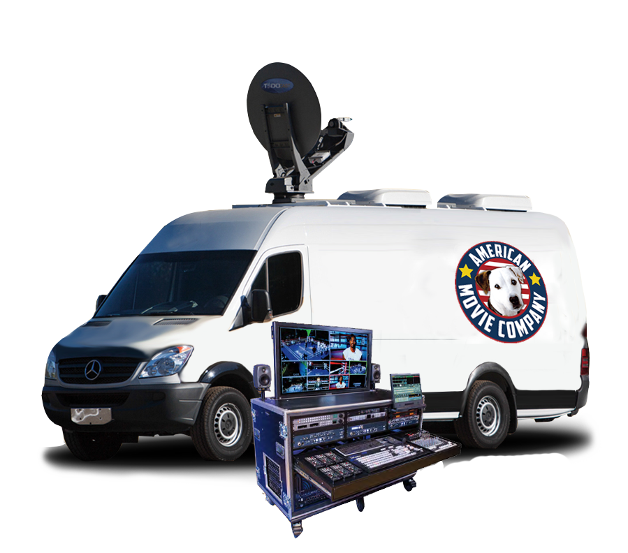 AMC Mobile WebCasting Unit and FlyPack
