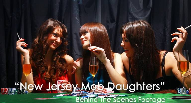 """Behind The Scenes """"New Jersey Mob Daughters"""" MOW AmericanMovieCO.com"""