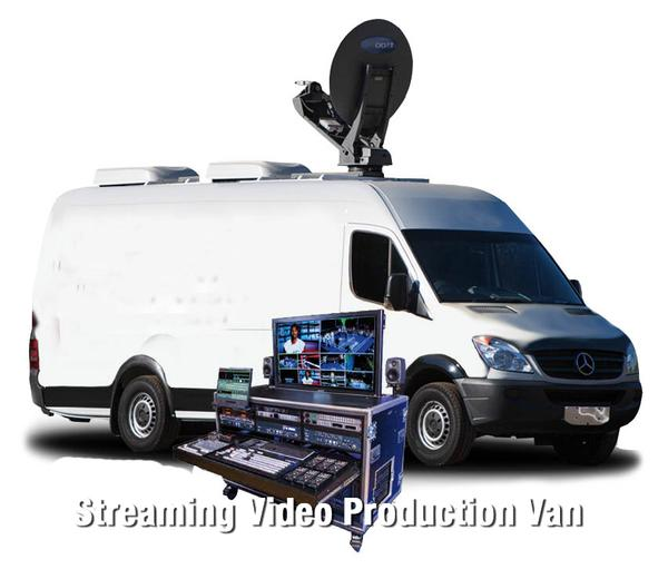 Streaming Video Production Truck