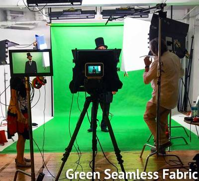 Green Seamless Fabric