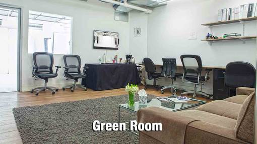 Green Room - chairs - tables