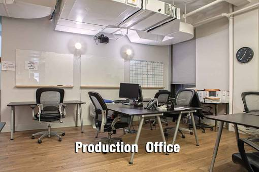 Production Office - chairs, tables
