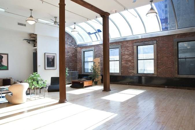Rear Windows, large WebCasting loft in Tribeca