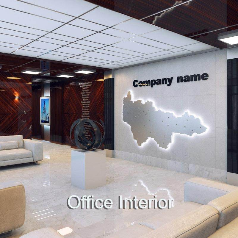 Modern Office Interior Virtual Set