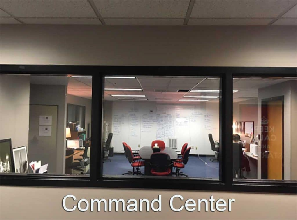 Command Center _ War Room . Large conference room