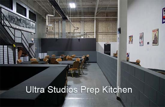 Ultra Prep Kitchen Chairs, Cooking spaceTables, refrigerator,