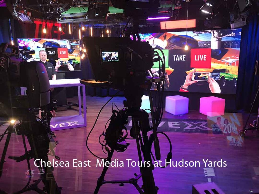 Chelsea East WebCast Media Tours at Hudson Yards