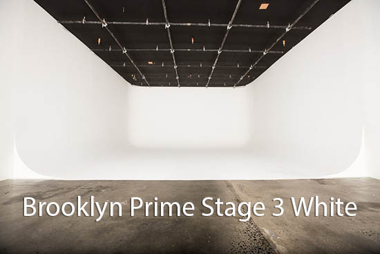 Brooklyn Prime Stage 3 - White Cyc stage