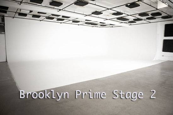 Brooklyn Prime Stage 2- White Cyc stage