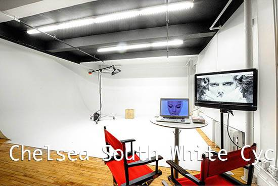Chelsea South White Cyc stage Studio A