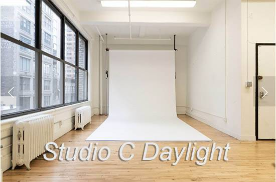 Chelsea South Daylight Studio C - White cyc stage
