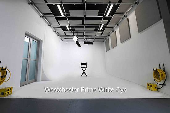 Westchester Prime White Cyc stage