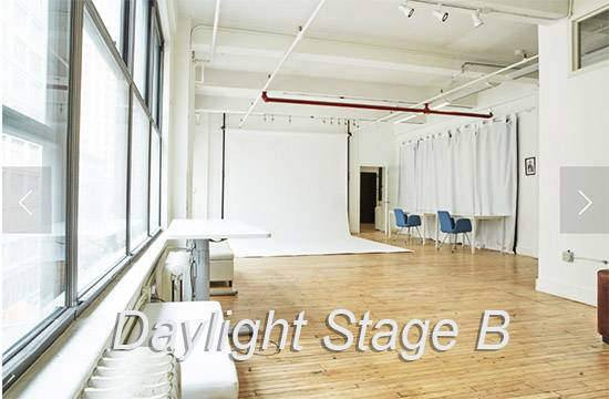 Chelsea South Daylight white cyc Stage B