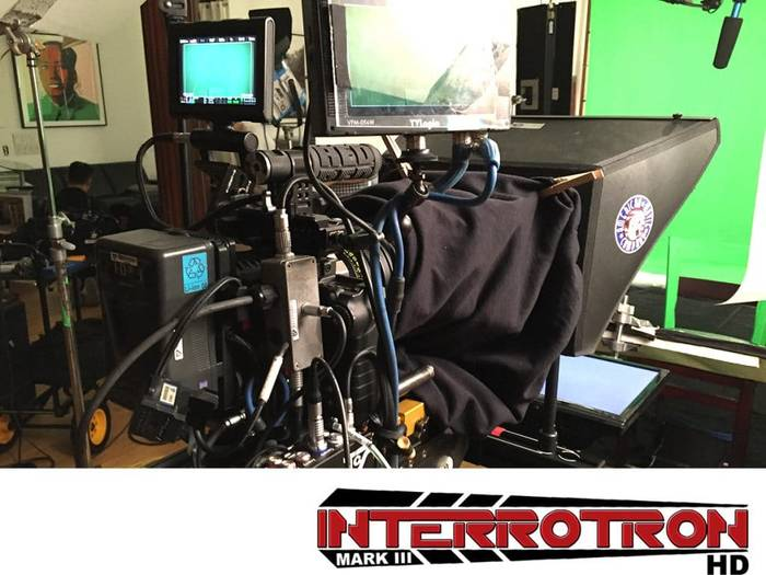 Interrotron rental Face to Face interviews with direct camera eyeline.