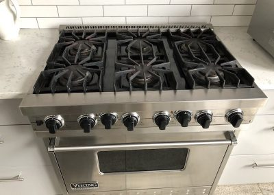 Viking 6- Burner gas Stove and convention Oven.