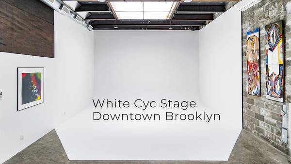 Downtown Brooklyn White Cyc Stage