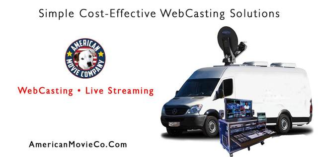 Simple Cost-Effective WebCasting Solutions: AMC Live Streaming Van