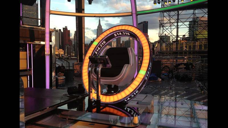 The Million Second Quiz Show Contestant's Chair: Live streamed by AMC.