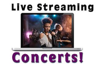 WebCasting/Live Streaming concerts - Laptop Live Stream
