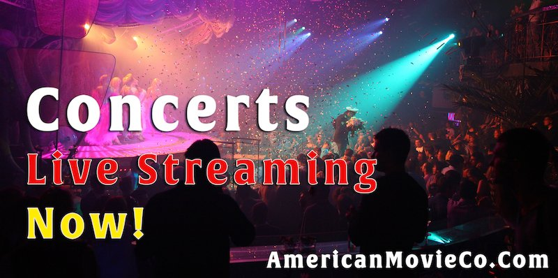WebCasting, Concerts Live Streaming Now!