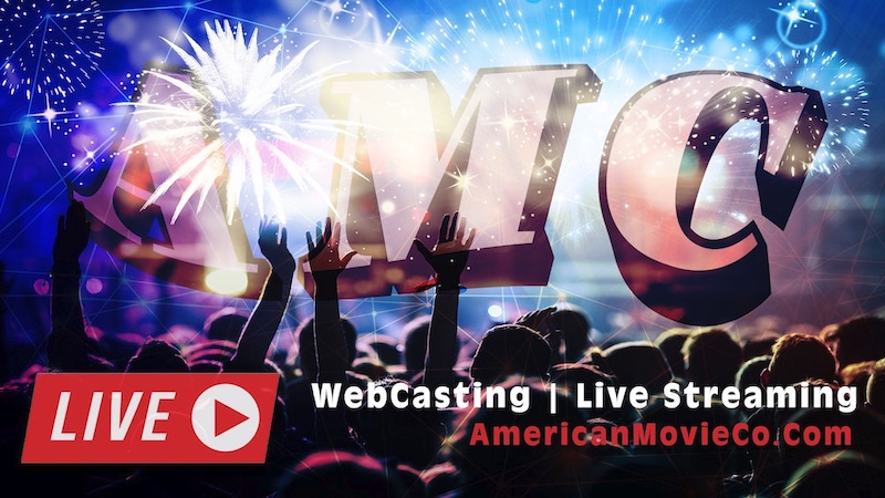 Webcasting NYC at American Movie Company banner