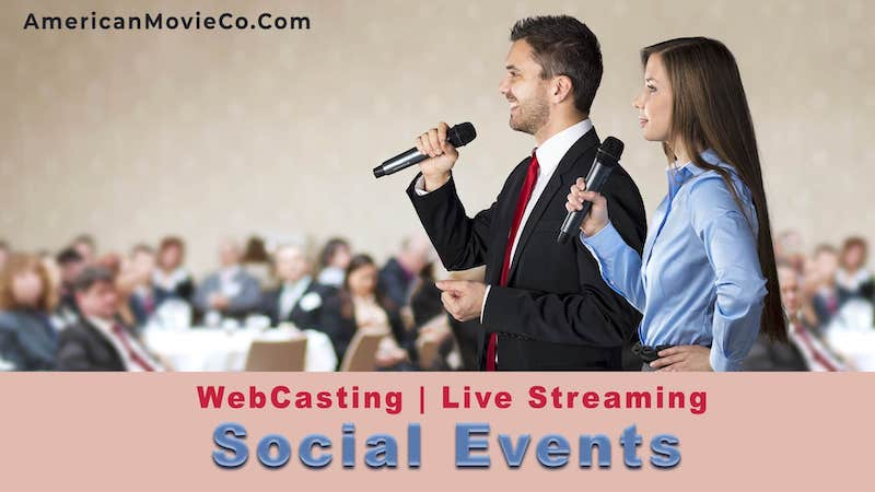 Live Streaming for Social Events