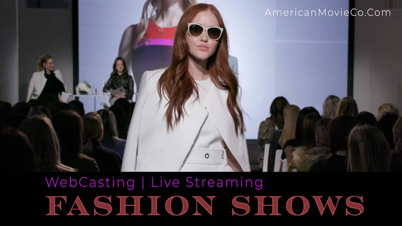 WebCasting for Fashion Shows