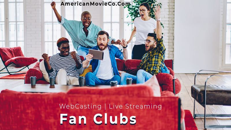 Live Streaming for Fan clubs